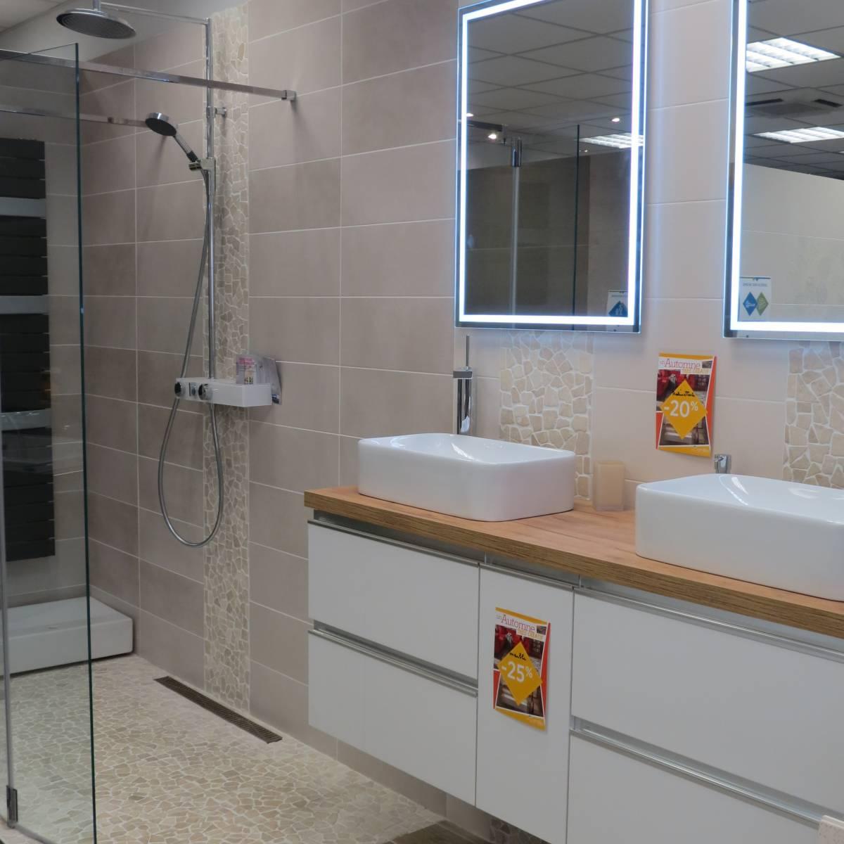 Salle de bain et sanitaire menuiserie bois sur mesure for Sanitaire salle de bain