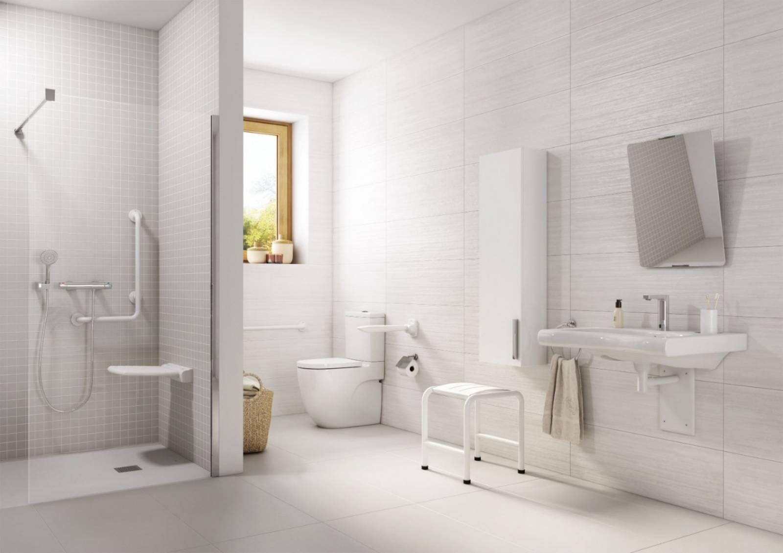 Meubles Salle De Bain Personnes Handicapées salle de bain sécurisée et accessible, tarare et alentours